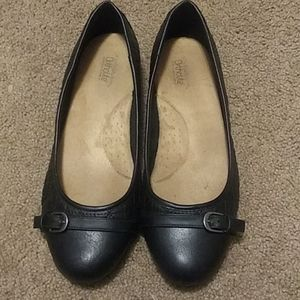 Croft and barrow ortholite ballet flats size 10 W